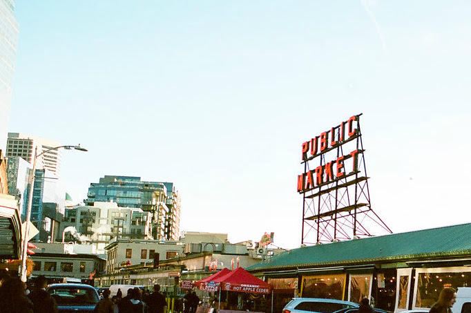 So close to the Pike Place Market
