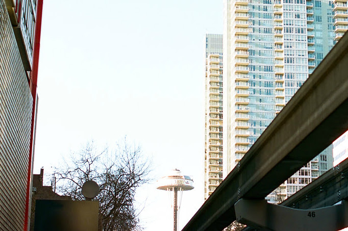 Near the Seattle Monorail